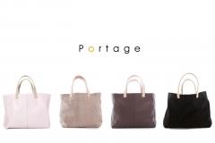 Bolsos personalizables de Portage elaborados por artesanos y acabados de primeras calidades.