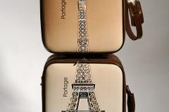 Trolley y maleta de mano personalizadas.