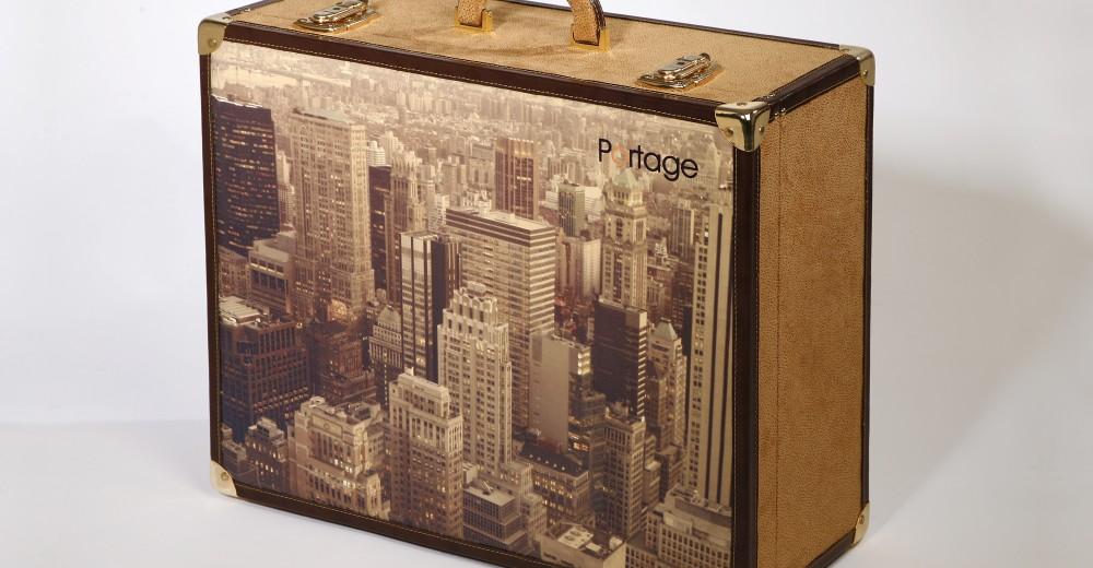 Vámonos de viaje con las maletas personalizadas de Portage