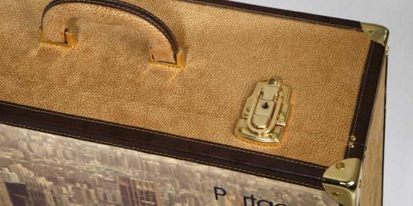 5 portage maleta vintage