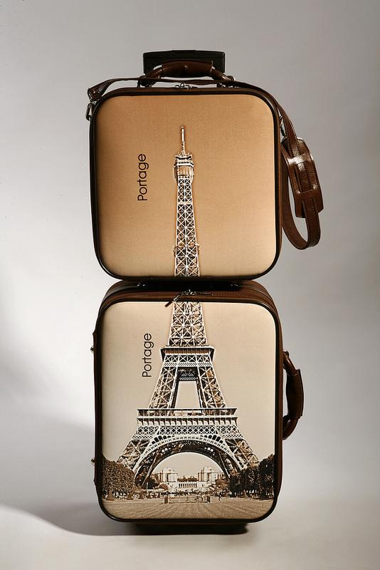 Trolley y maleta de mano personalizadas Portage.