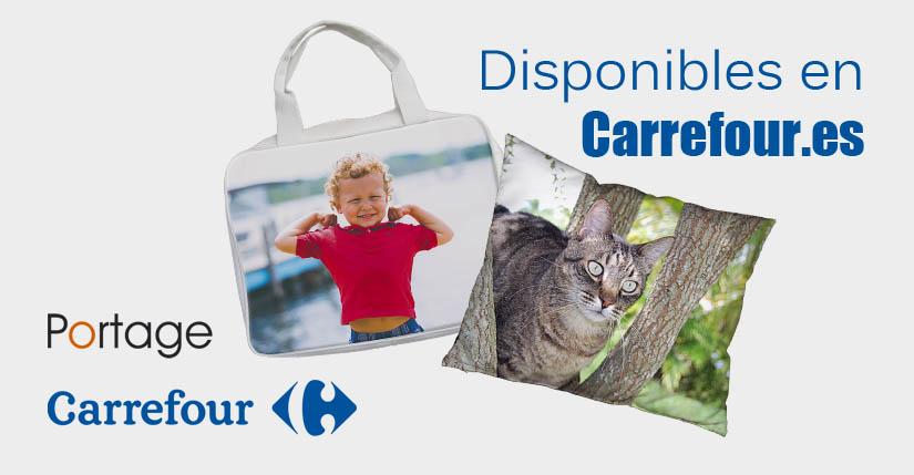 Nuestros regalos personalizados ya están en Carrefour.es